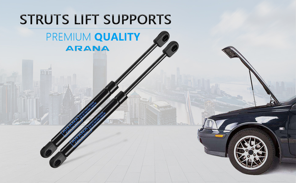 amazon com qty 2 for acura tl 2006 2008 front hood lift supports rh amazon com Acura TL Service Manual Acura TL Manual Transmission