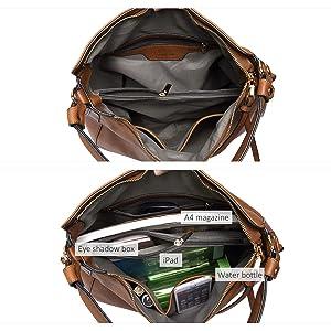5020362cb97a Amazon.com  Handbags for Women Large Designer Ladies Hobo bag Bucket ...