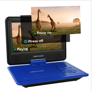 "DBPOWER SY-02 9"" DVD PLAYER - HK Shared Dream"