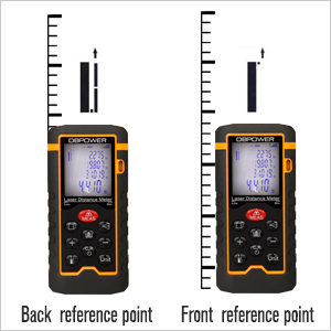 DBPOWER Digital Laser Measure 197FT/ 60M LCD Screen - HK Shared Dream