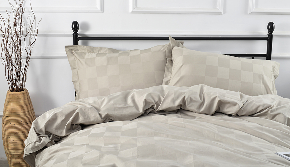 Marcopolo 3 piece 100 egyptian cotton grey for Luxury hotel collection 800 tc egyptian cotton duvet cover set