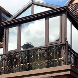mirrored window film
