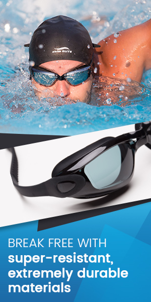 Adult Swim Goggles For Men And Women Reversible Swimming Cap Protective Case