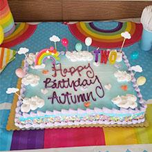 Amazon.com: Decoración para tartas de cumpleaños, diseño de ...