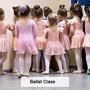 STELLE Girls Ballet Dance Students School Footed Tight Toddler//Little Kid//Bi...