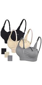 dbaf870f2 Nylon Nursing bra(3-pack) · STELLE Cotton Sleep Bra 2-Pack · STELLE Cotton  Sleep Bra 3-Pack