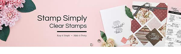 Stamp Simply Clear Stamps Religious Holy Craft Christ God Bible Verse Stamping Rubber Optimism Good