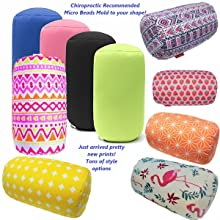 Most popular Micro Bead Cylinder Roll Pillows - Lots of Patterns to choose
