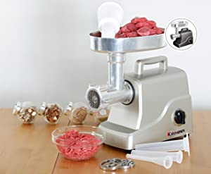 Amazon Com Kitchener Heavy Duty Electric Meat Grinder 2 3