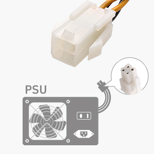 ATX Power Supply Cable Connector