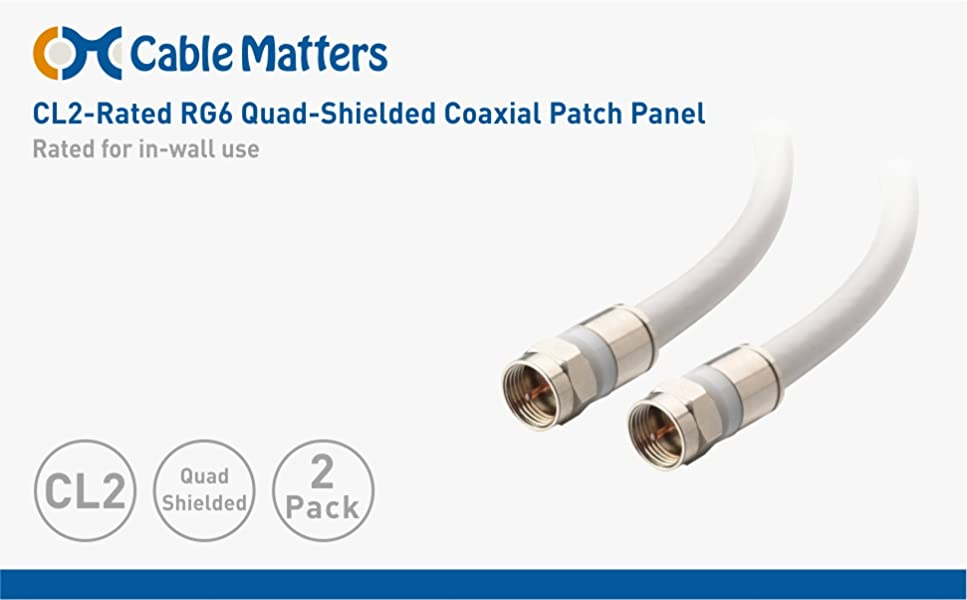 Convenient Coaxial Cable Connection