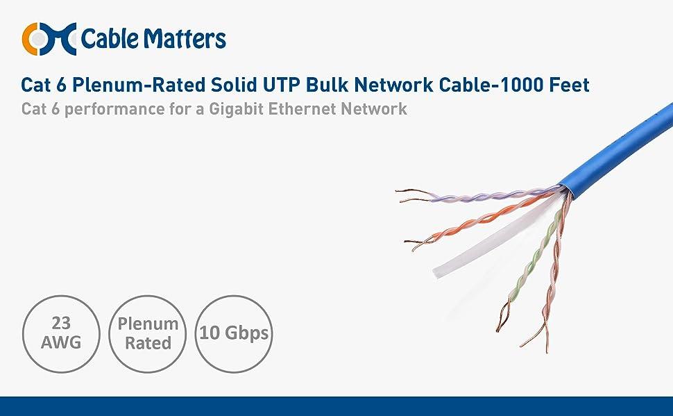 koCg8GZShiZ._UX970_TTW__ amazon com cable matters [ul listed] plenum jacket (cmp) cat6 bulk