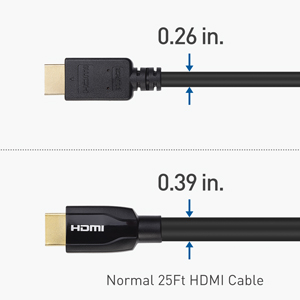 Lighter & Thinner HDMI Cable