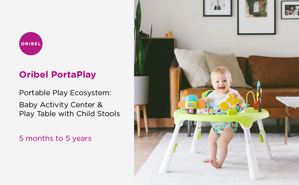 88fd6384c Amazon.com   Oribel PortaPlay 4-in-1 Foldable Convertible Baby ...