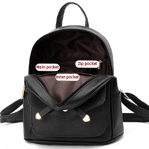 Fashion Small Daypacks Purse for Girls and Women