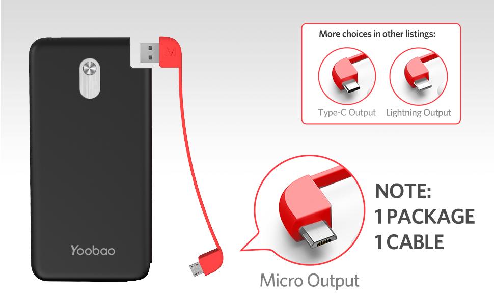 Amazon.com: iPhone Lightning cargador de batería portátil ...