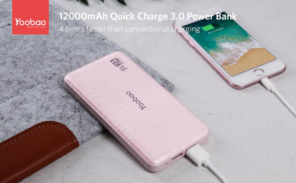 Yoobao quick charge power bank
