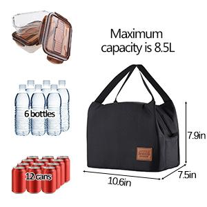 Maximum capacity is 8.5L