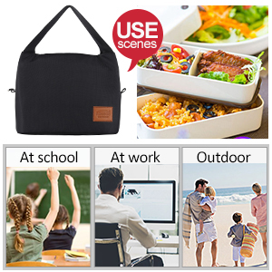 Usage Scenario of Aosbos Lunch bag