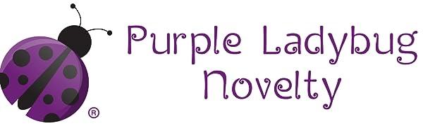Purple Ladybug Novelty PLBfun we sell stickers scratch art squishies  sensory toy fidget toy