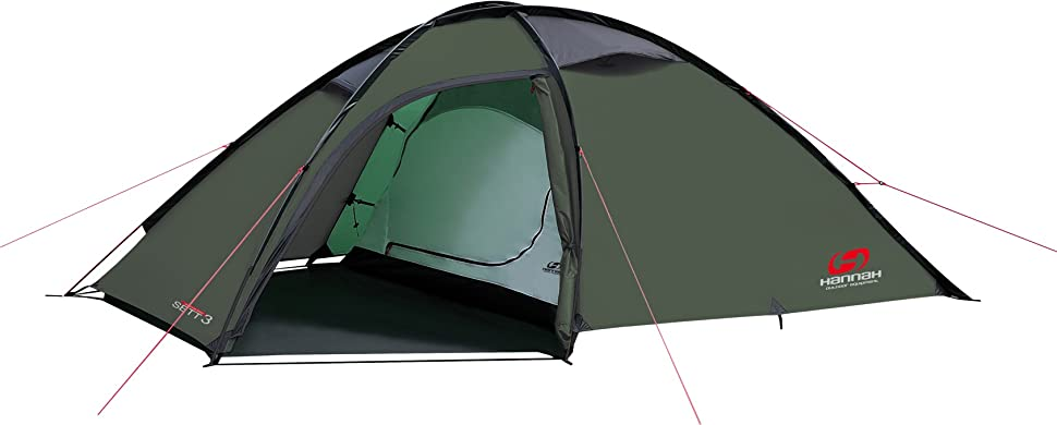 The Sett 3 Person Tent by Hannah includes 1 entrances external construction bedroom vestibule with two side entrances 3 poles 3 air vents ...  sc 1 st  Amazon.com & Amazon.com : Hannah Sett Adventure Series tent for the Wilderness ...