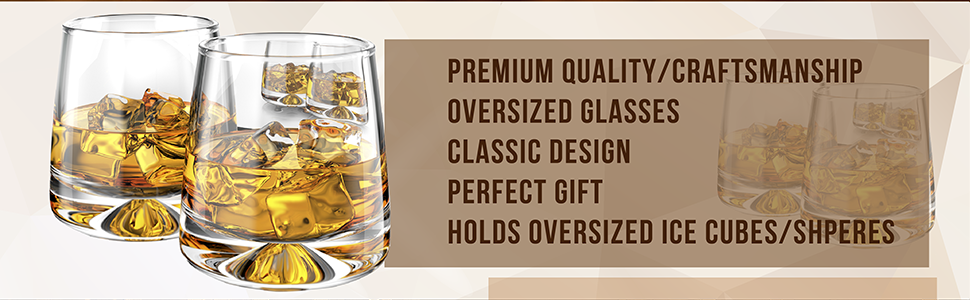 cocktail glass, whiskey gifts for men, lowball glass, whiskey glass set of 2, lowball glasses