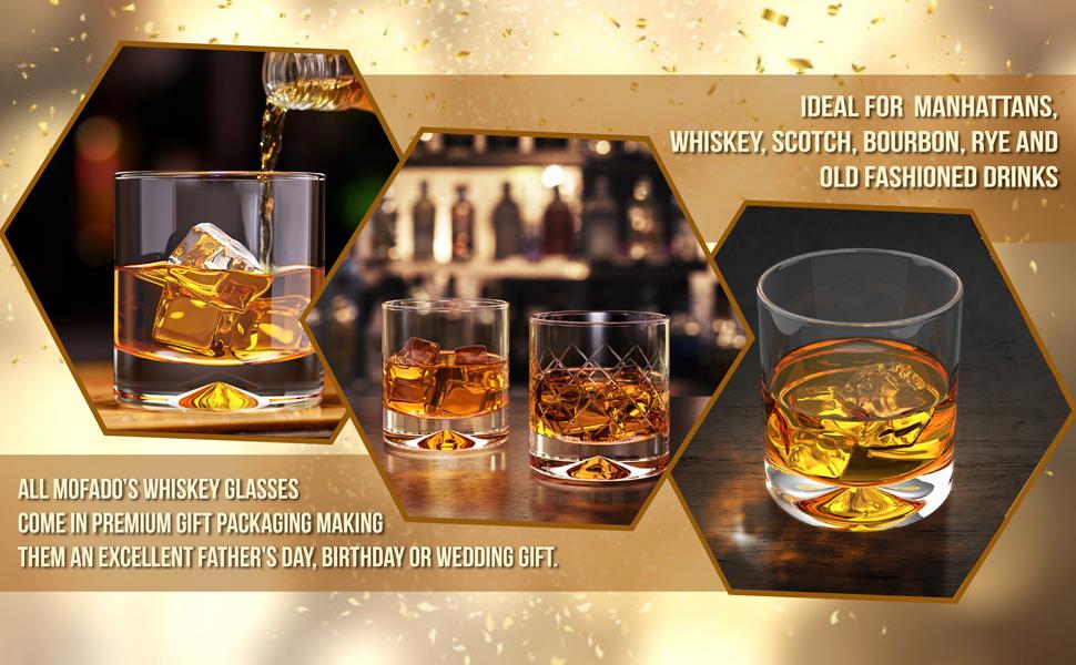 mofado whiskey glasses