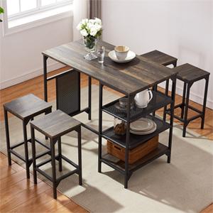 vintage style kitchen table set