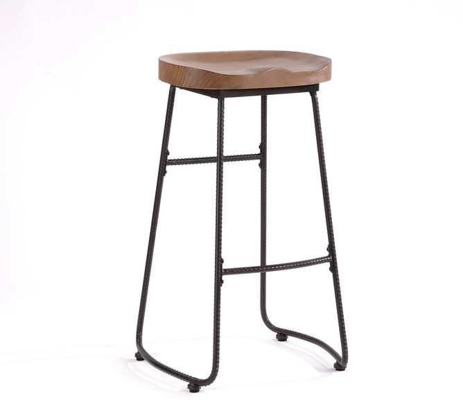 Ou0026K Furniture bar stools features a solid wood seat and metal frame add an industrial look to you home decor. Its unique structural design and tasteful ...  sc 1 st  Amazon.com & Amazon.com: Ou0026K Furniture 30-Inch Counter Height Stool Chairs ... islam-shia.org
