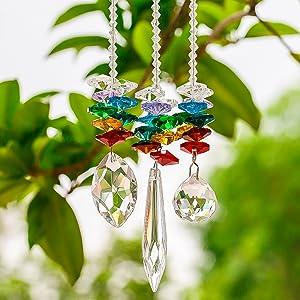 Crystal Suncatcher Prism Set