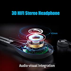 3D HIFI Stereo Headphone