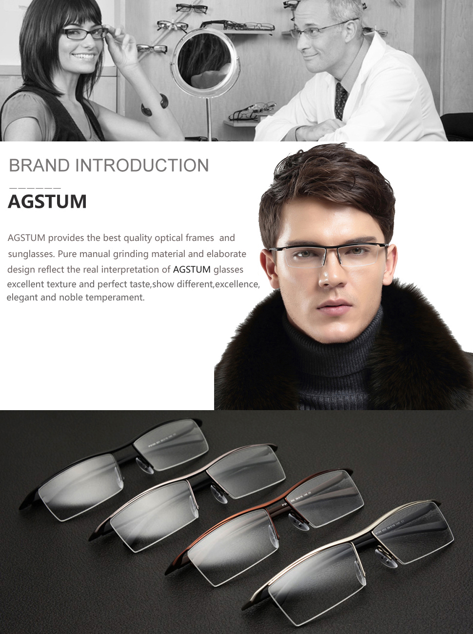 7d49436b8b FEATURES AND USES. ✓Great fashion frame design for Business lifestyles.  ✓Durable optical glasses.