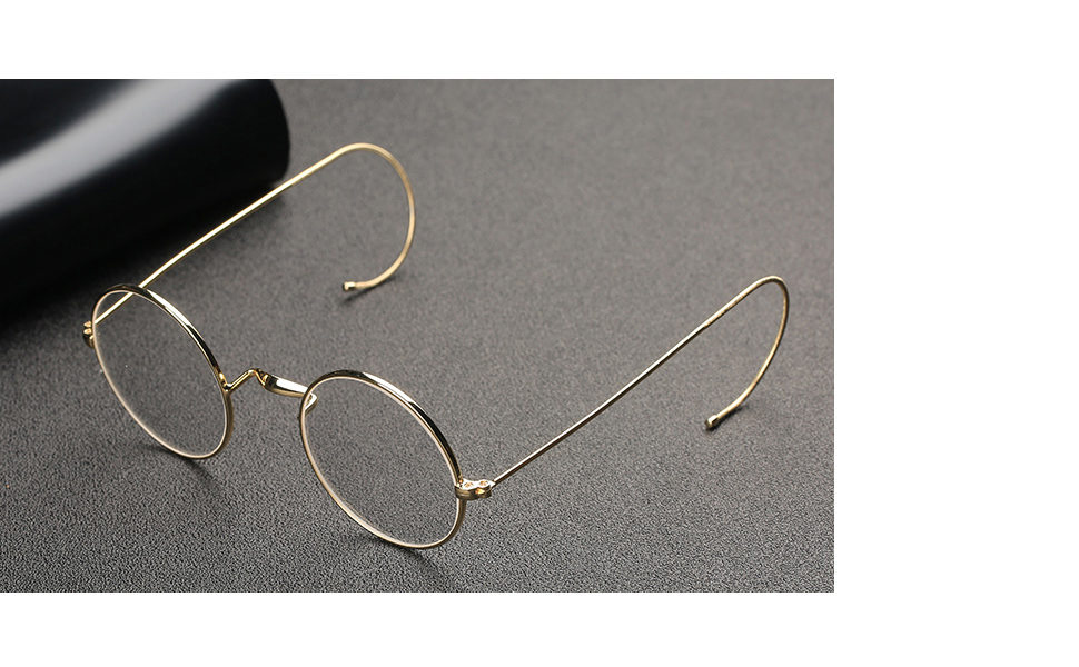 Small Round Wire Rimmed Spectacles