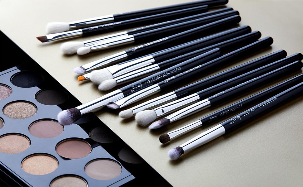 Jessup 15pcs makeup brushes