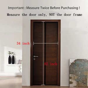 Magnetic Screen Door Size: 36u201d*83u201d Fits Door Size: 34u201d X 82u201d