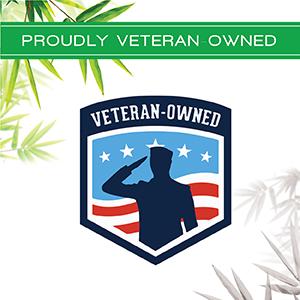 100% Viscose from Bamboo Sheets - Veteran-owned