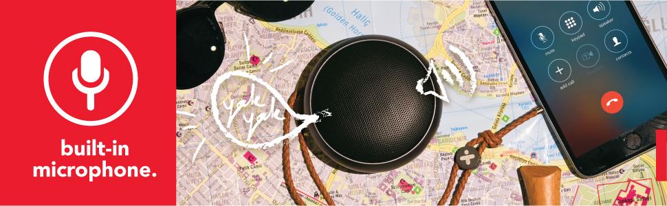 X-mini KAI X1 built-in microphone handsfree phone call