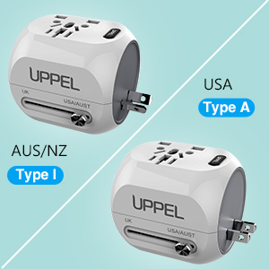Adapter Plug A and I