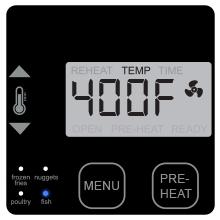 5 degree increment nuwave brio airfryer