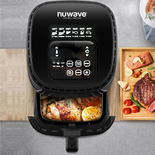 advanced safety features nuwave brio airfryer