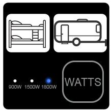 wattage control nuwave brio airfryer dorm rv