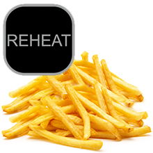 reheat function nuwave airfryer brio french fries