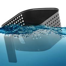 easy to clean fry pan basket nuwave brio 6qt
