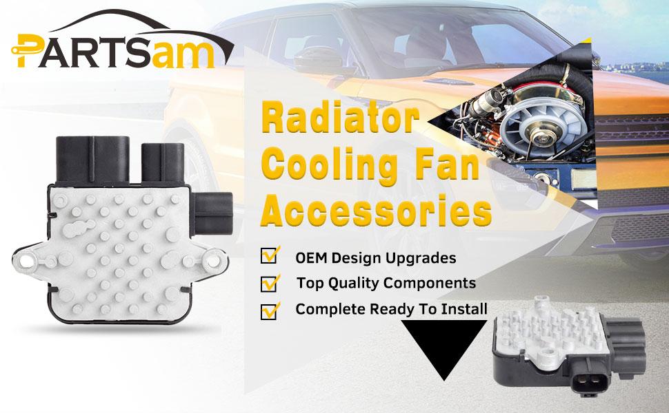 PartsSquare Cooling Fan Control Unit Module 1355S124 Replacement for
