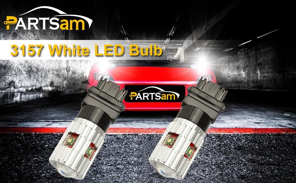 2x 3157 3357 Cree LED 100W Red 6000LM Light Turn Signal Bulb 12V Upgrade Bulbs