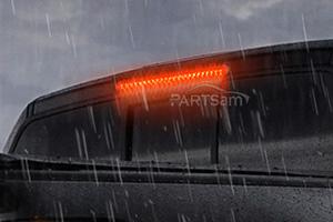 "4Pcs17/""Red 46LED Light Stop Turn Tail 3rd brake Light Truck Trailer  Submersible"