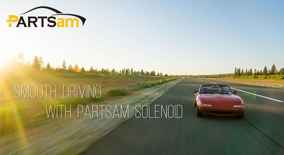 Partsam 4L60E 4L65E Transmission Shift Solenoid Service Kit Set Filter  Gasket