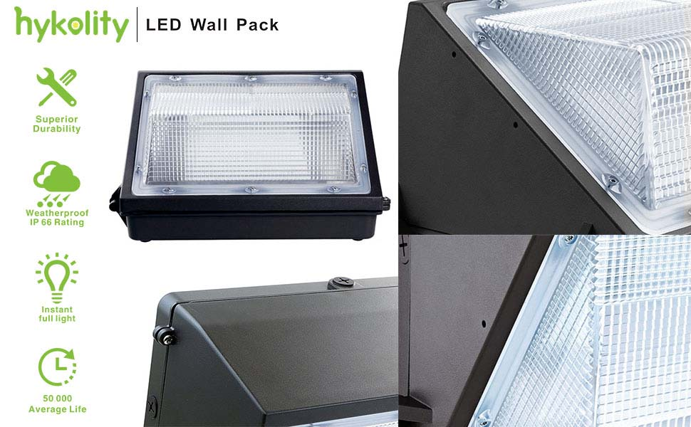 features of led wall pack light