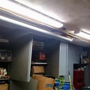 Hykolity 4ft Led Commercial Ceiling Wraparound Shop Light