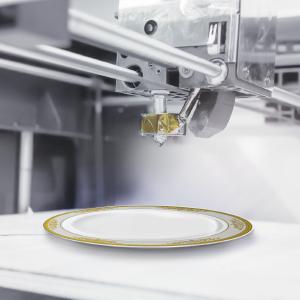 Traditional premium plastic plates